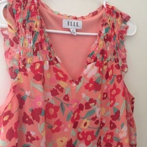 Elle Brand Colorfull top